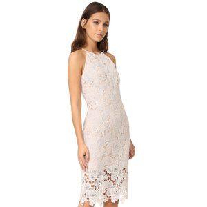 Keepsake the Label Blush Lace Bodycon Dress Size L